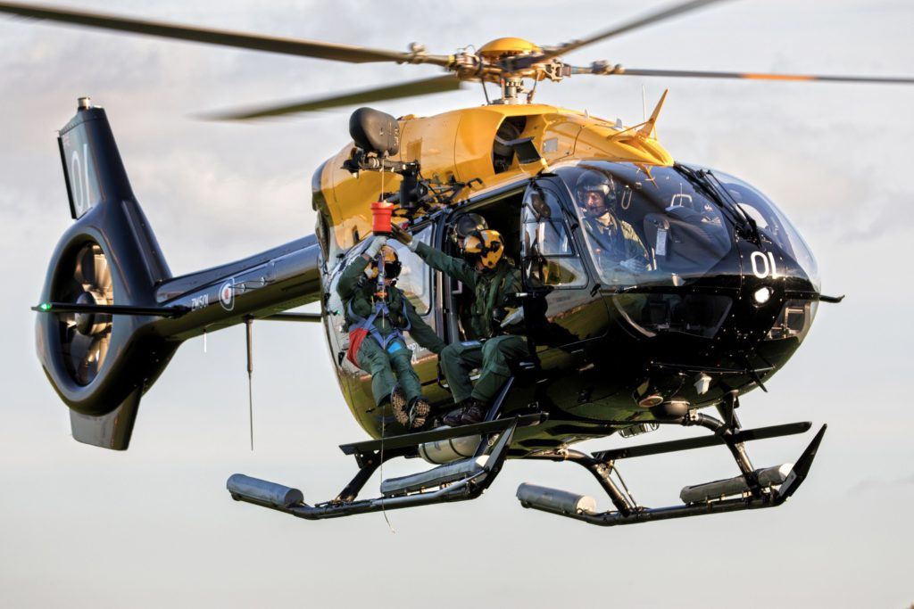 H145 Jupiter Royal Air Force (RAF)
