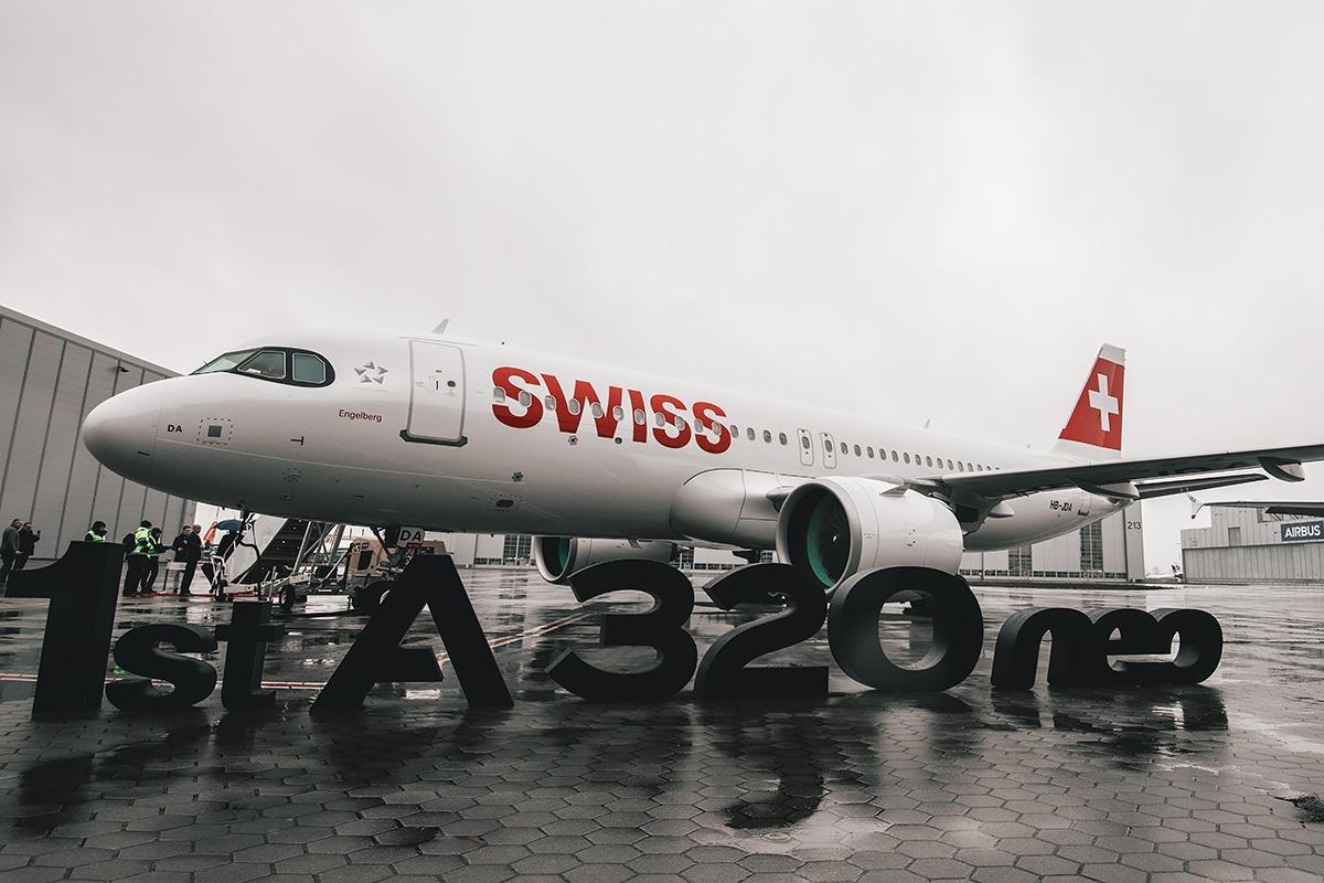 1er A320neo SWISS / MSN 9246 / HB-JDA