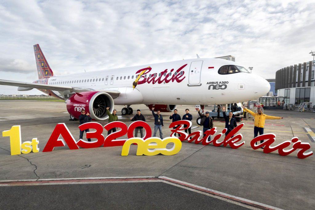 1er A320neo Batik