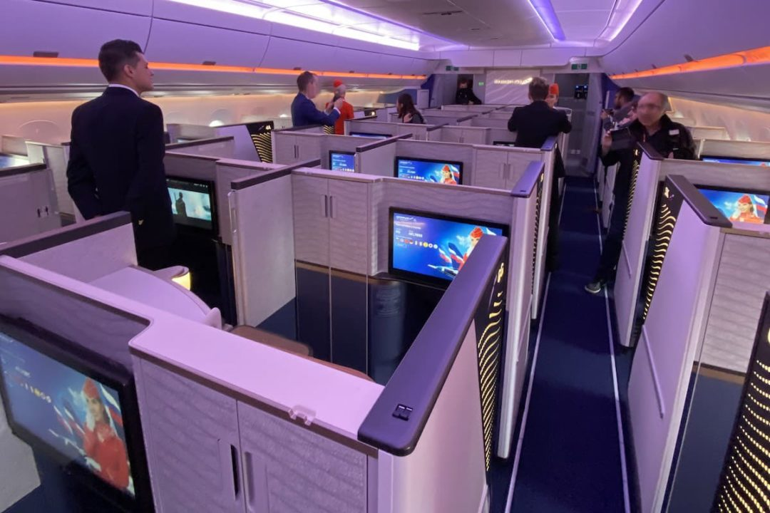 Business Class suites dans l'A350-900 Aeroflot