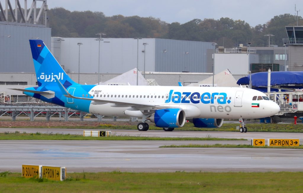 A320neo Jazeera Airways 9K-CBB