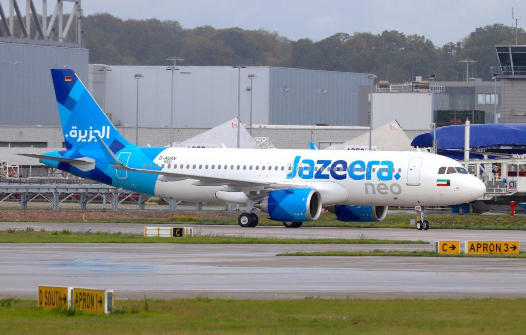 A320neo Jazeera Airways 9K-CBB