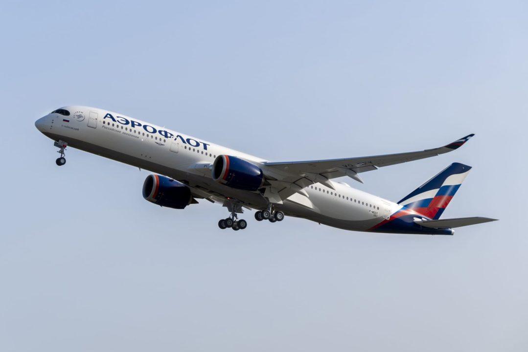 1er A350-900 Aeroflot