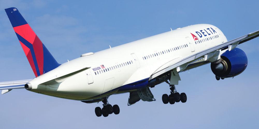A350-900 Delta à Paris