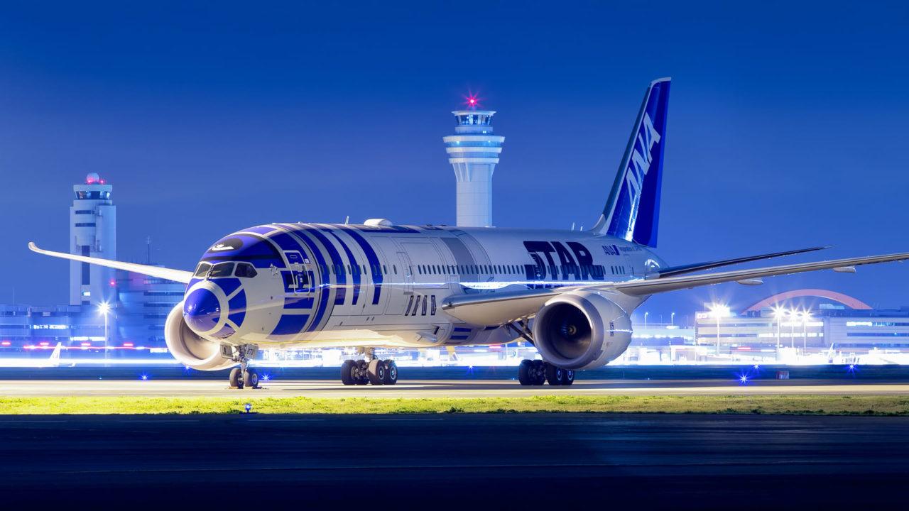 ANA Boeing 787-9 R2D2