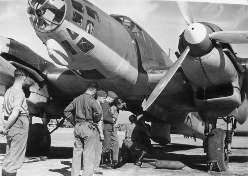 Heinkel He 111 de la légion Condor en janvier 1936