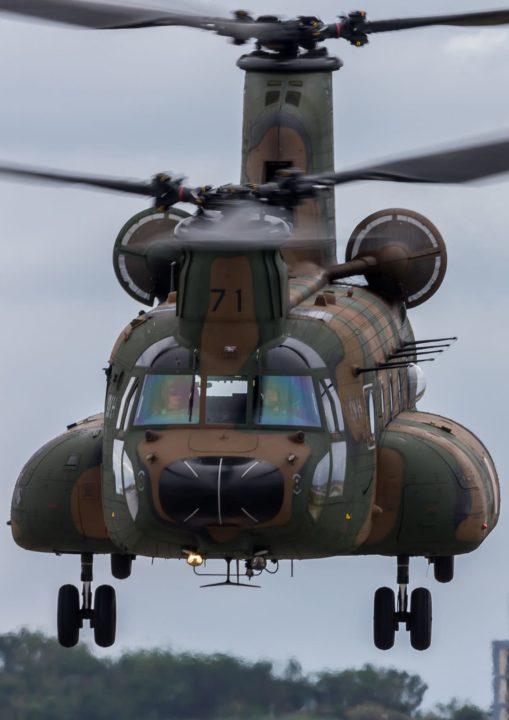 JGSDF Kawasaki CH-47J Chinook