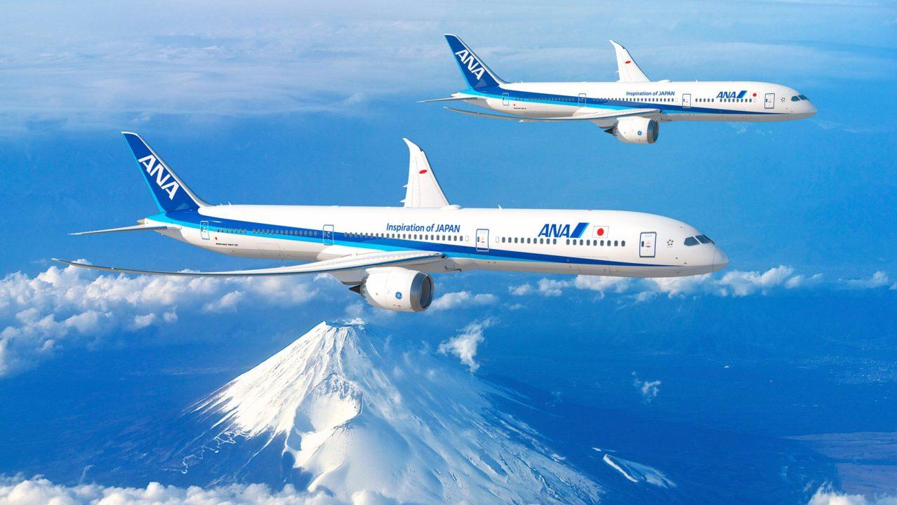 ANA Boeing 787-9 et 787-10