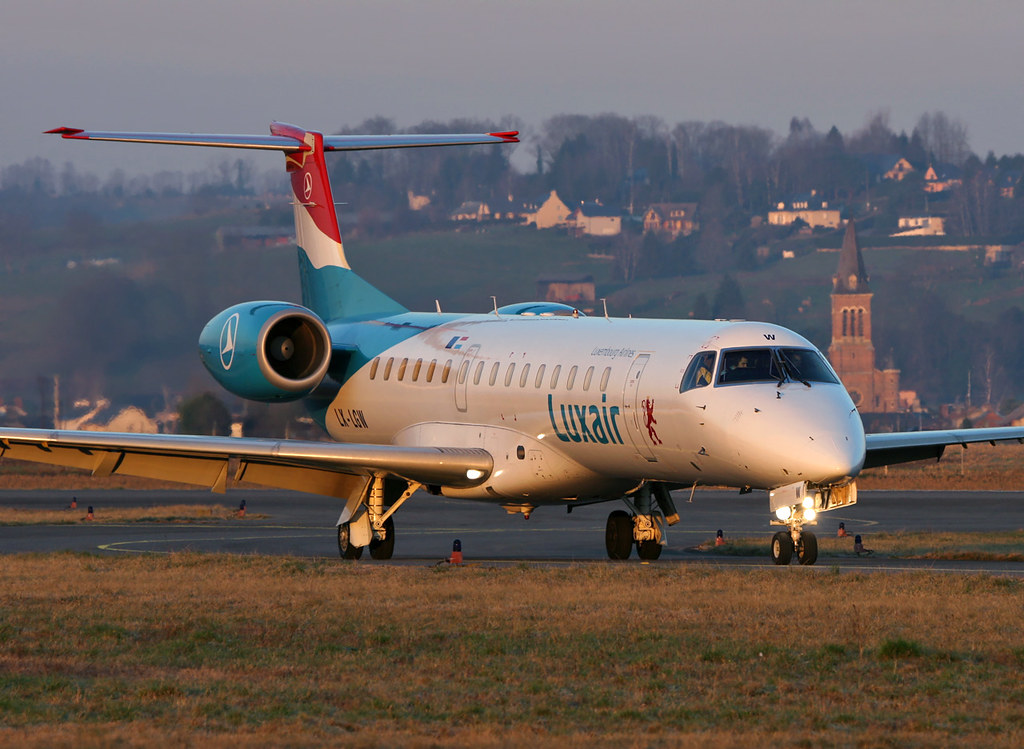 Luxair Embraer 145 LX-LGW