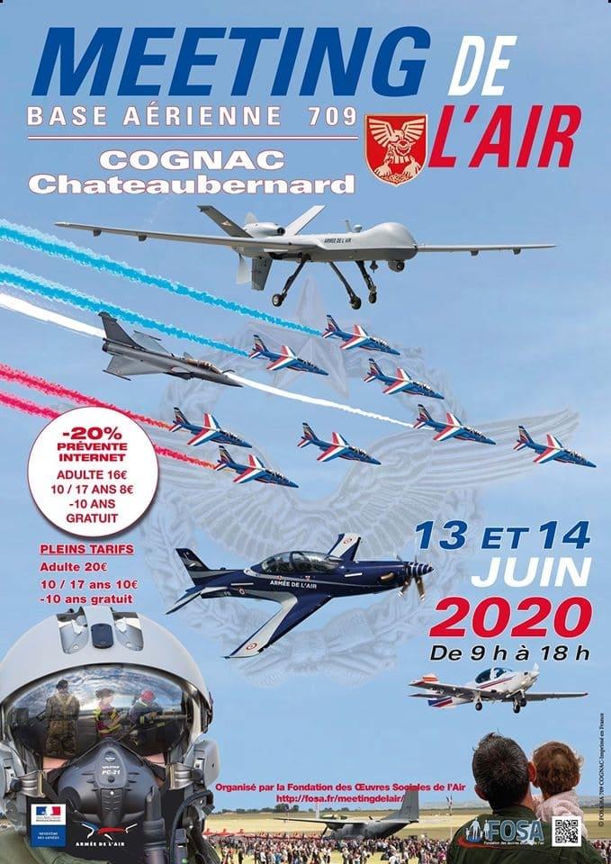 Meeting de l'Air FOSA 2020 de Cognac ©