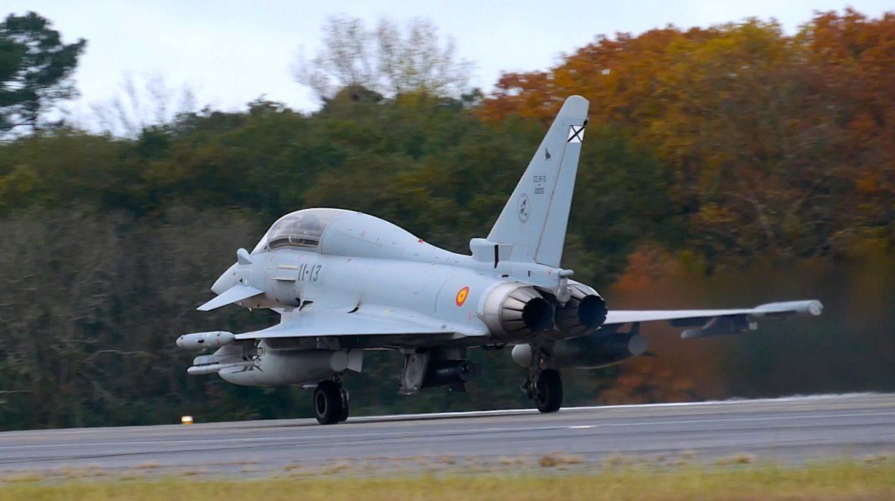 Eurofighter Typhoon Armée de l'Air espagnole