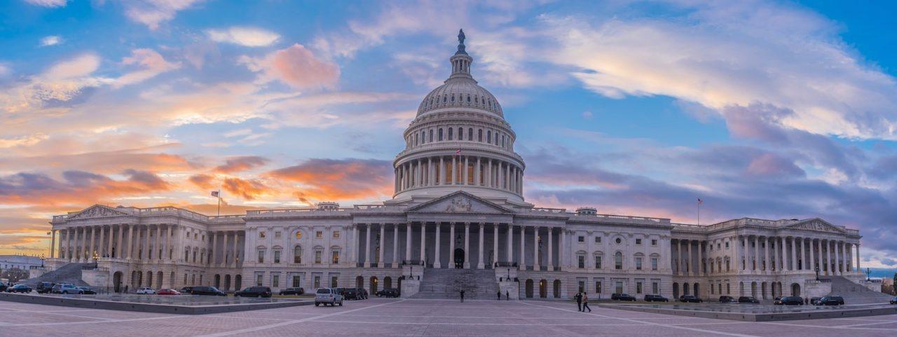 Le Capitole des États-Unis est le bâtiment qui sert de siège au Congrès - Washington DC