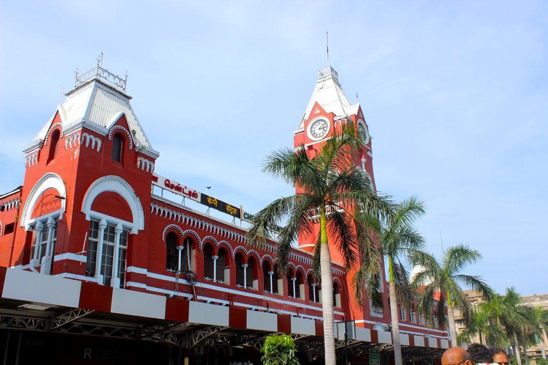 Chennai Station, la gare centrale de Chennai