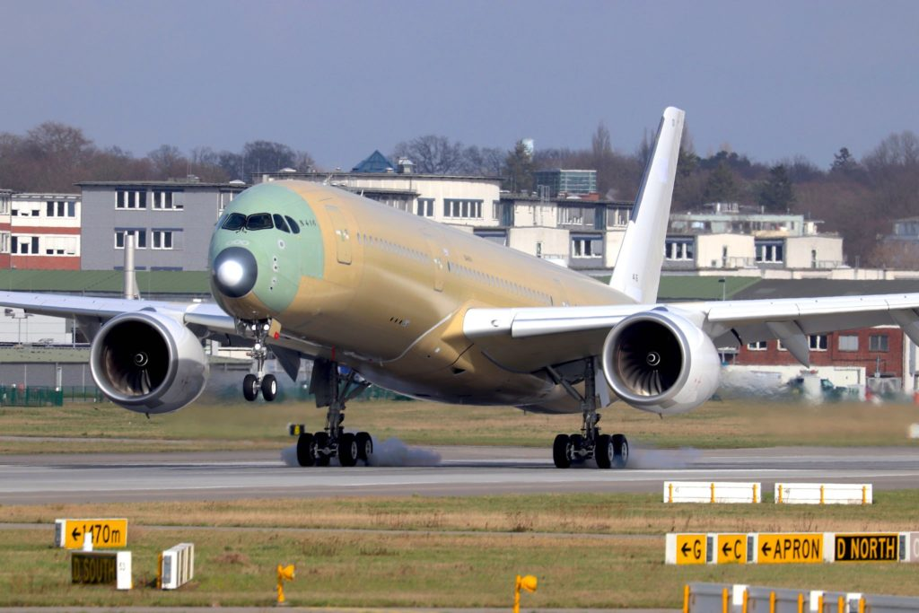 1er A350 Luftwaffe [MSN 416 / F-WZFF]