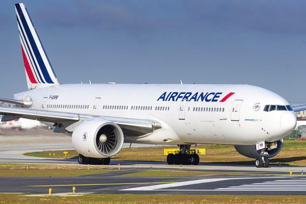 Air France B777-200ER F-GSPB