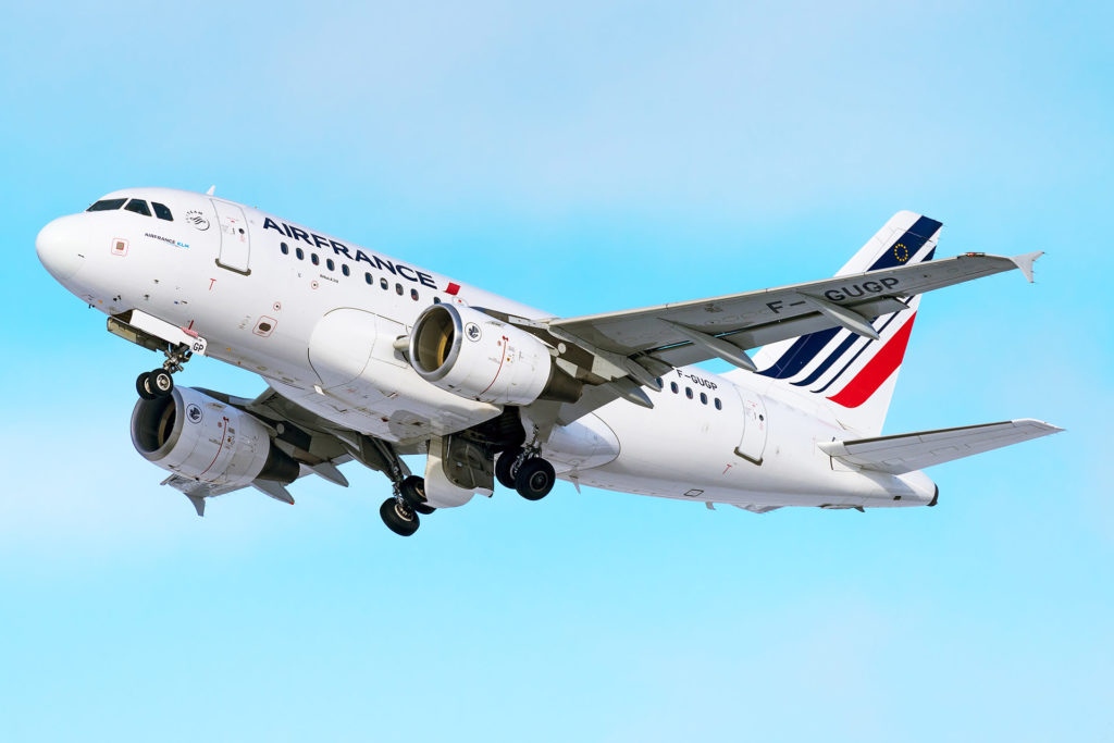 Airbus A318 Air France F-GUGP