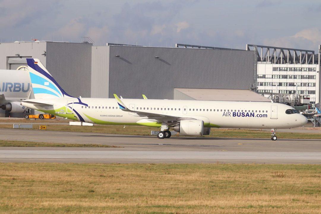 1er A321neo Air Busan [MSN 9234 / D-AVZT / HL8366]