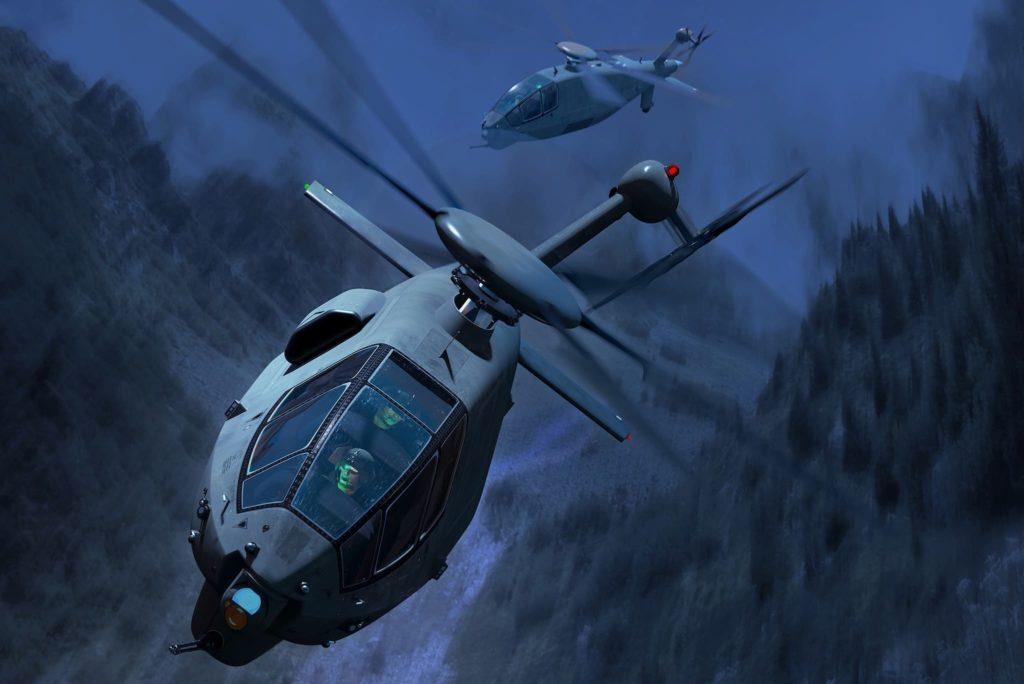 Projet Boeing hélicoptère de reconnaissance et d'attaque FARA