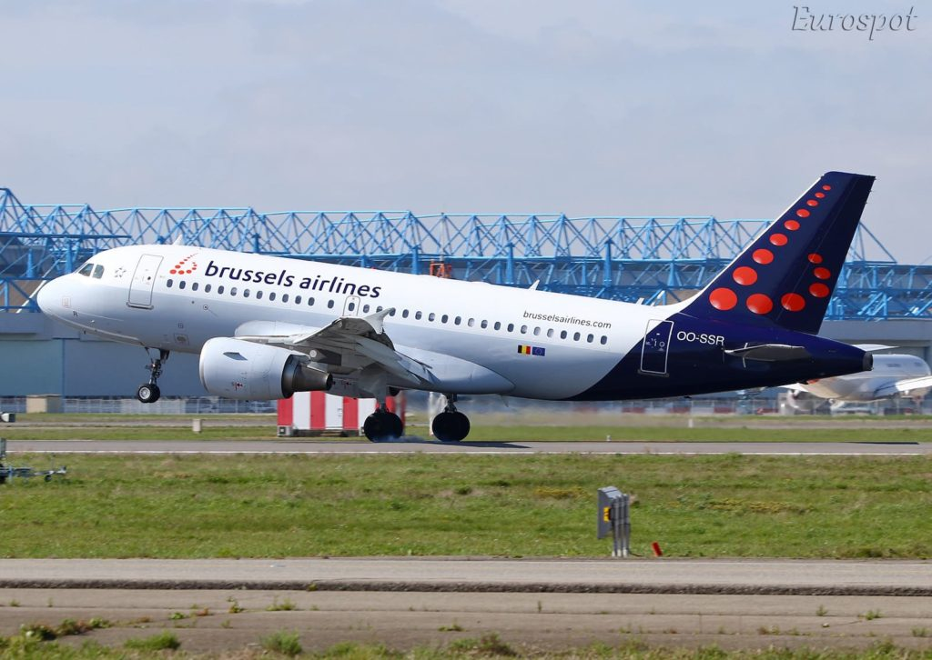 Airbus A319-112 Brussels Airlines s/n 4275