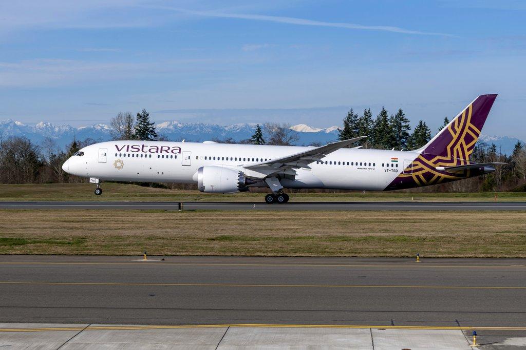 Vistara 1er Boeing 787-9