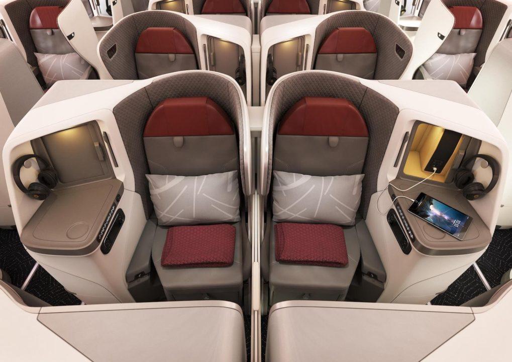 Cabine Business 787-9 © Vistara