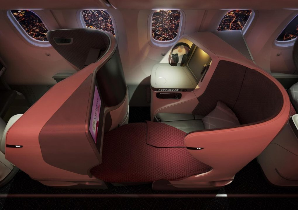 Siège Business 787-9