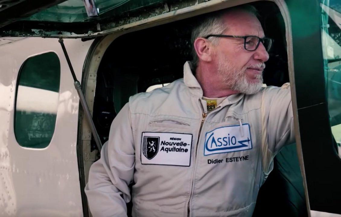 Didier Esteyne prépare le 1er vol du démonstrateur Cassio 1