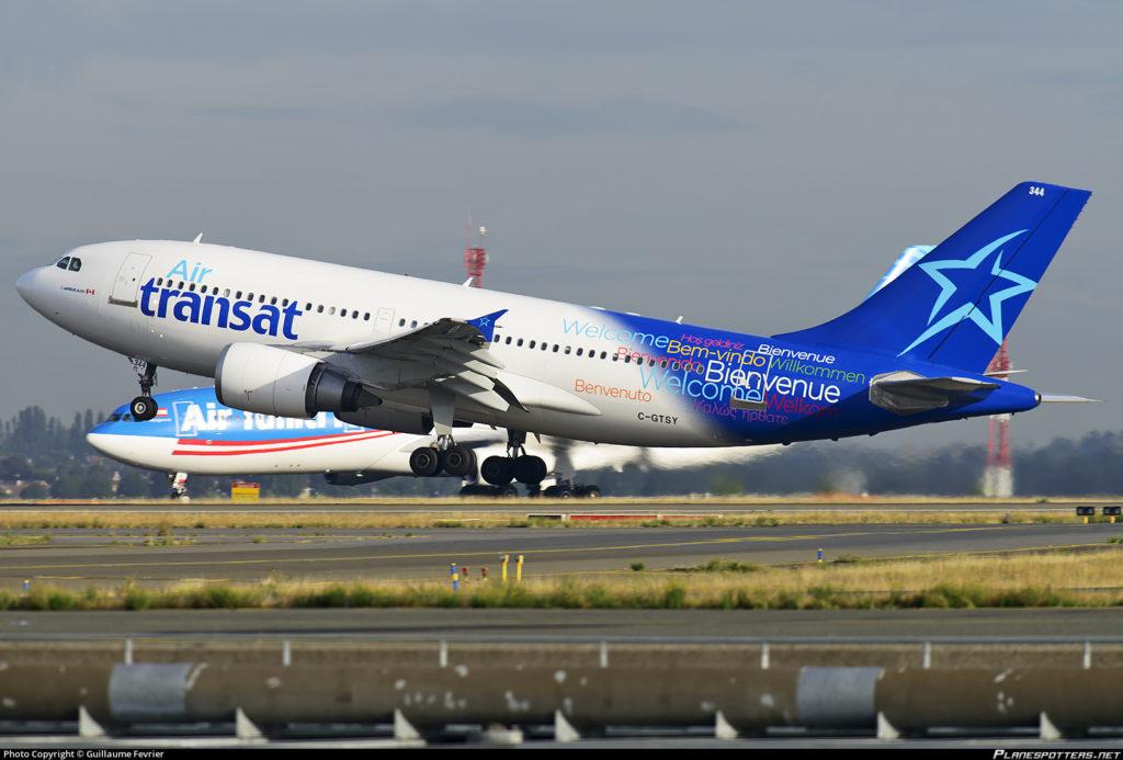 Airbus A310-300 Air Transat C-GTSY