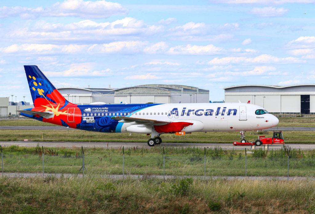 1er A320neo Aircalin