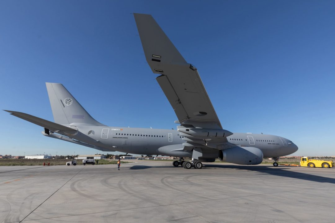 1er Airbus A330 MRTT de la flotte mutualisée OTAM