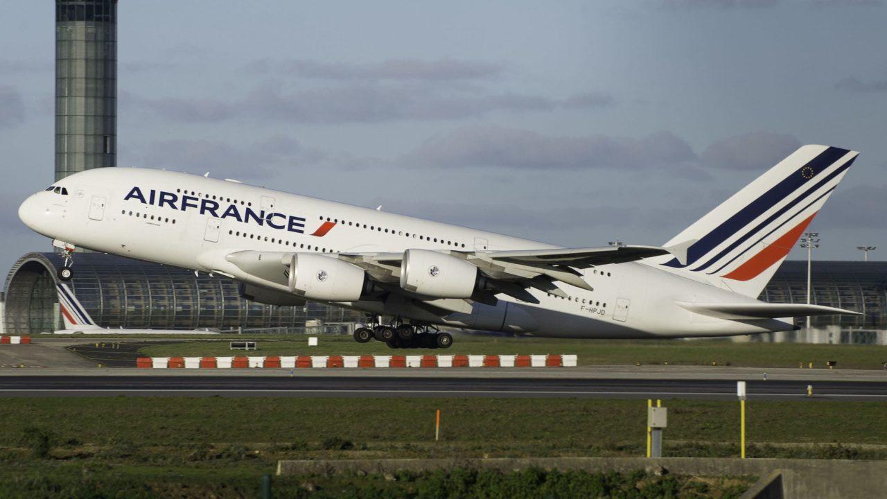 Airbus A380 Air France F-HPJD