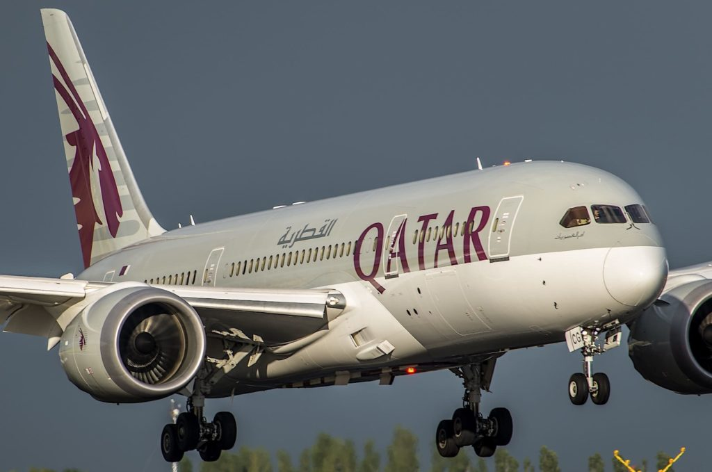 Boeing 787-8 Dreamliner Qatar Airways A7-BCG