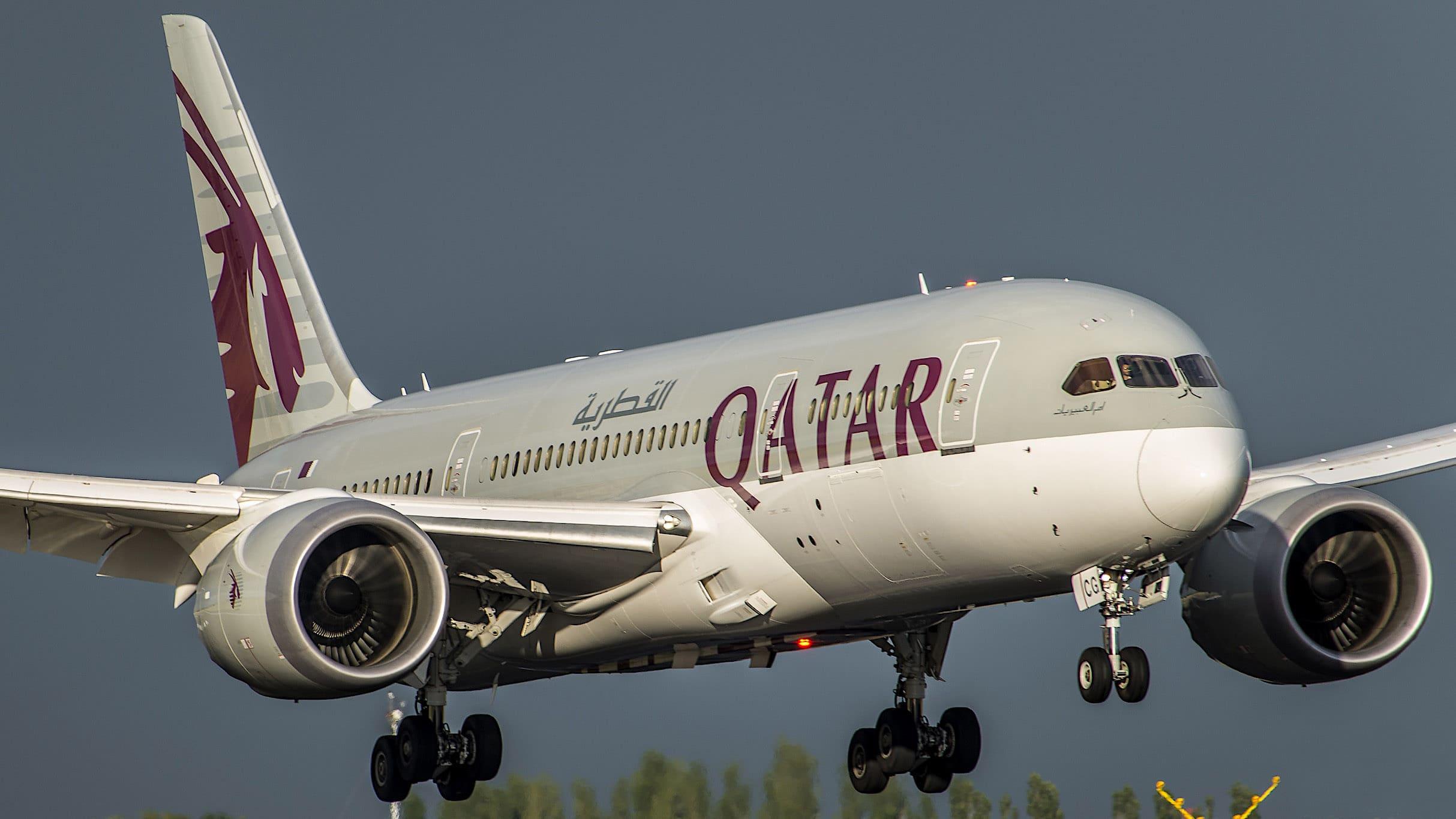 Boeing 787-8 Dreamliner Qatar Airways A7-BCG