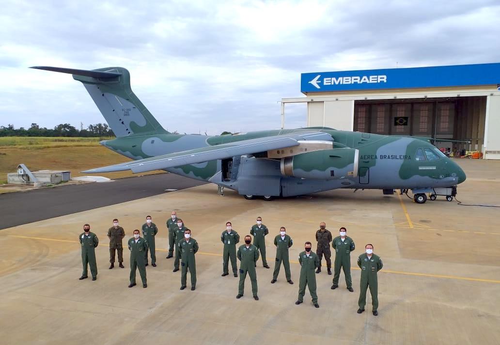 3e C390 de la Force aérienne brésilienne (FAB)
