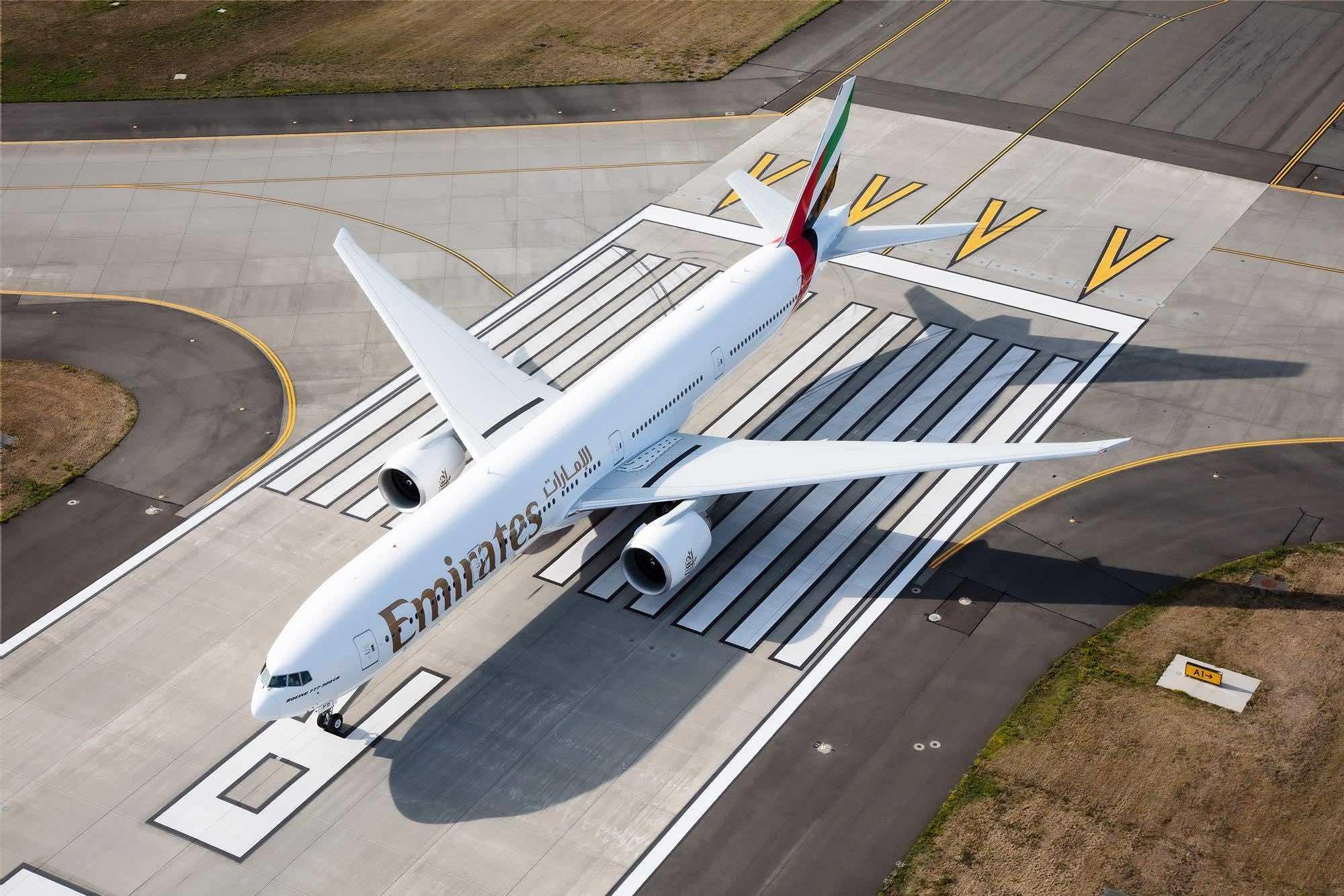 Emirates B777-300ER