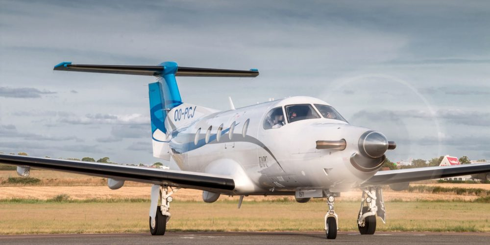 OO-PCJ, Pilatus PC12