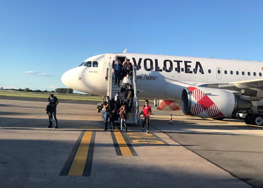 A319 Volotea à Montpellier