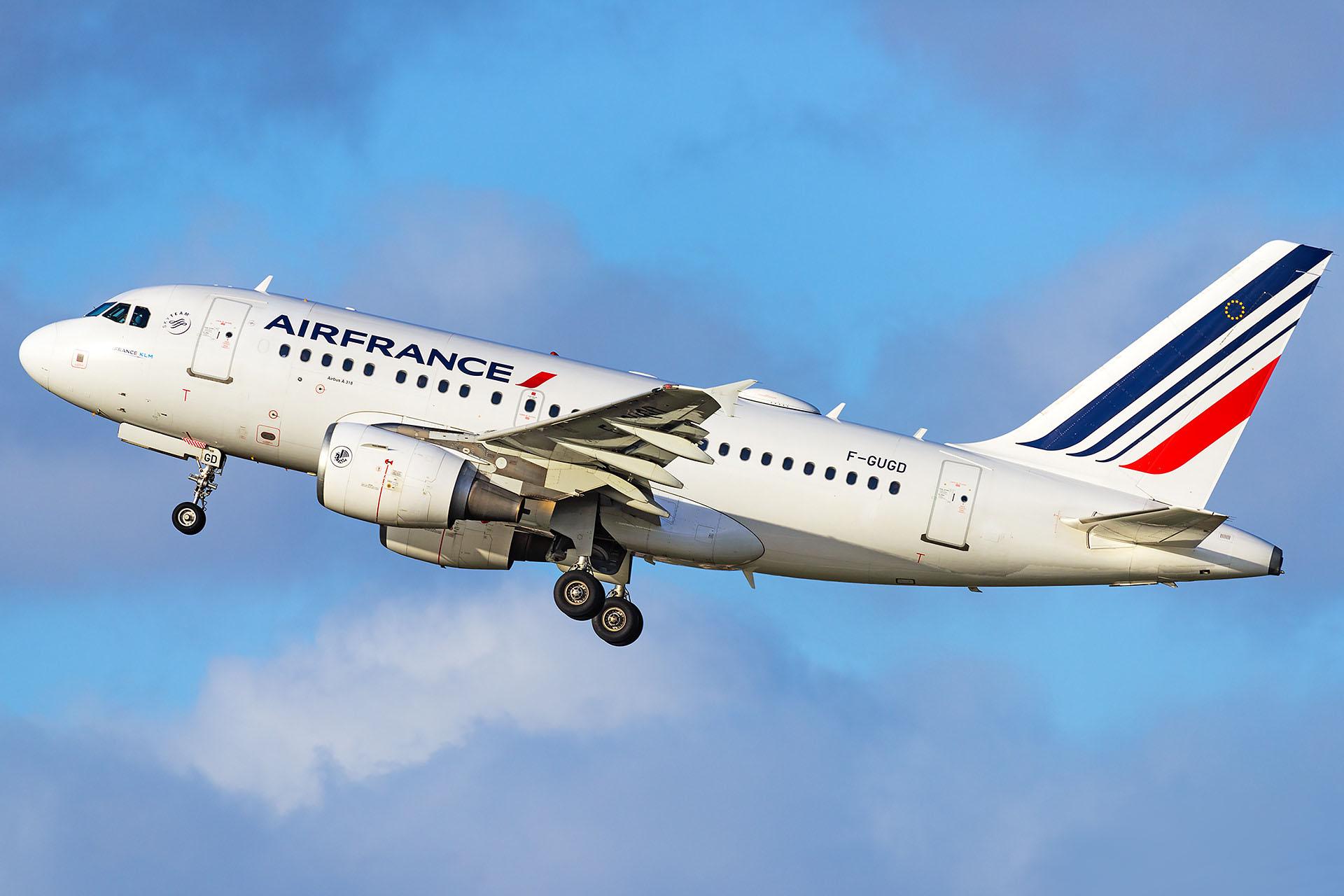 A318 Air France F-GUGD