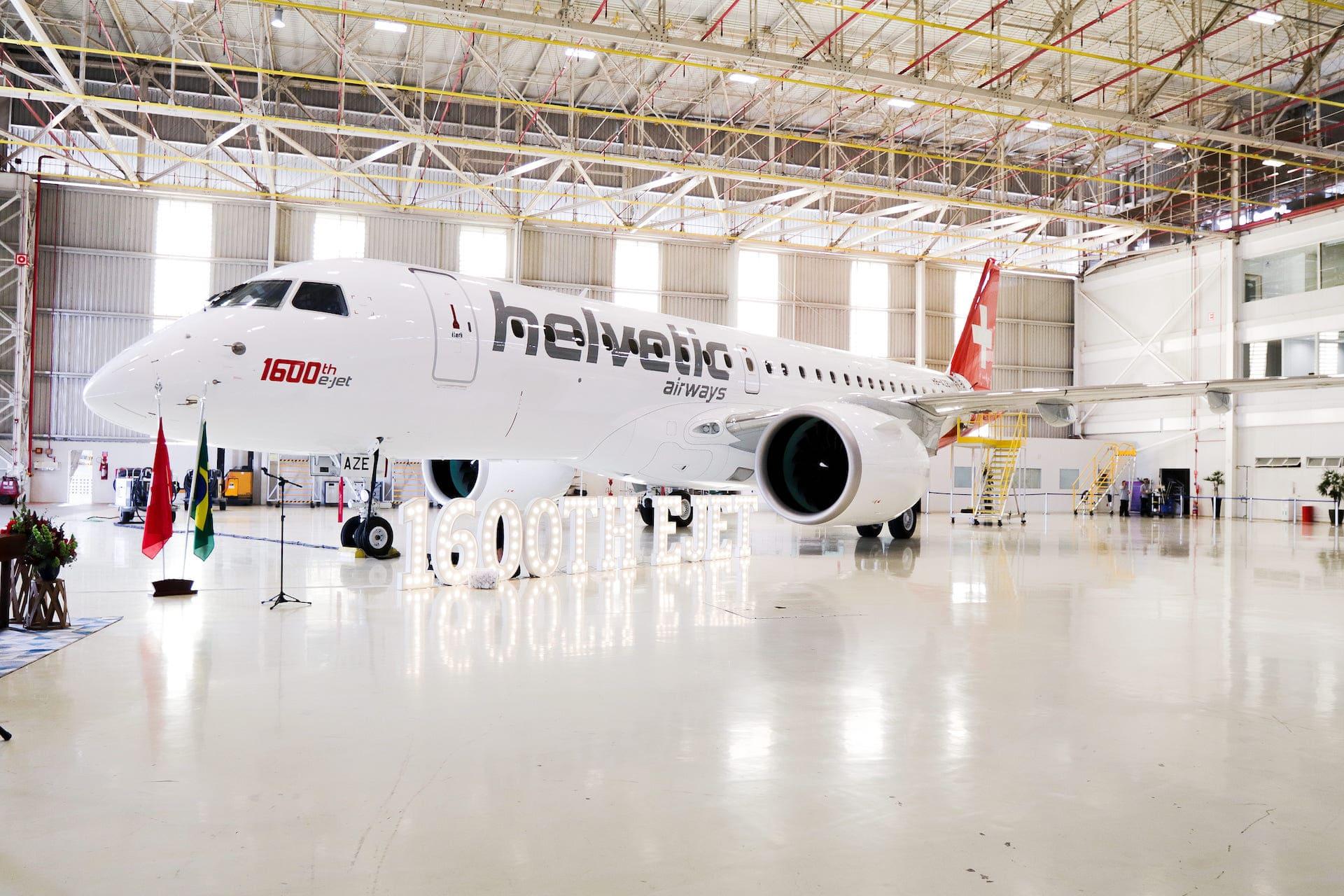 Embraer E190-E2 Helvetic Airways