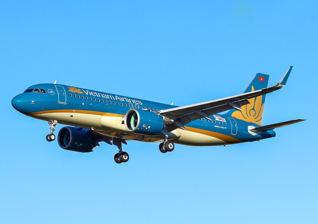 Airbus A320neo Vietnam Airlines F-WWDG / s/n 10098 / VN-A513