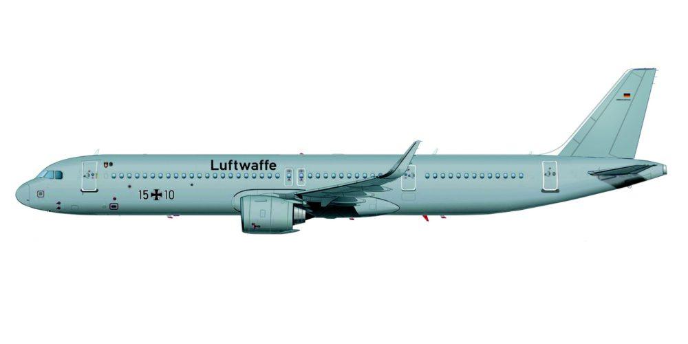 ACJ A321LR Luftwaffe