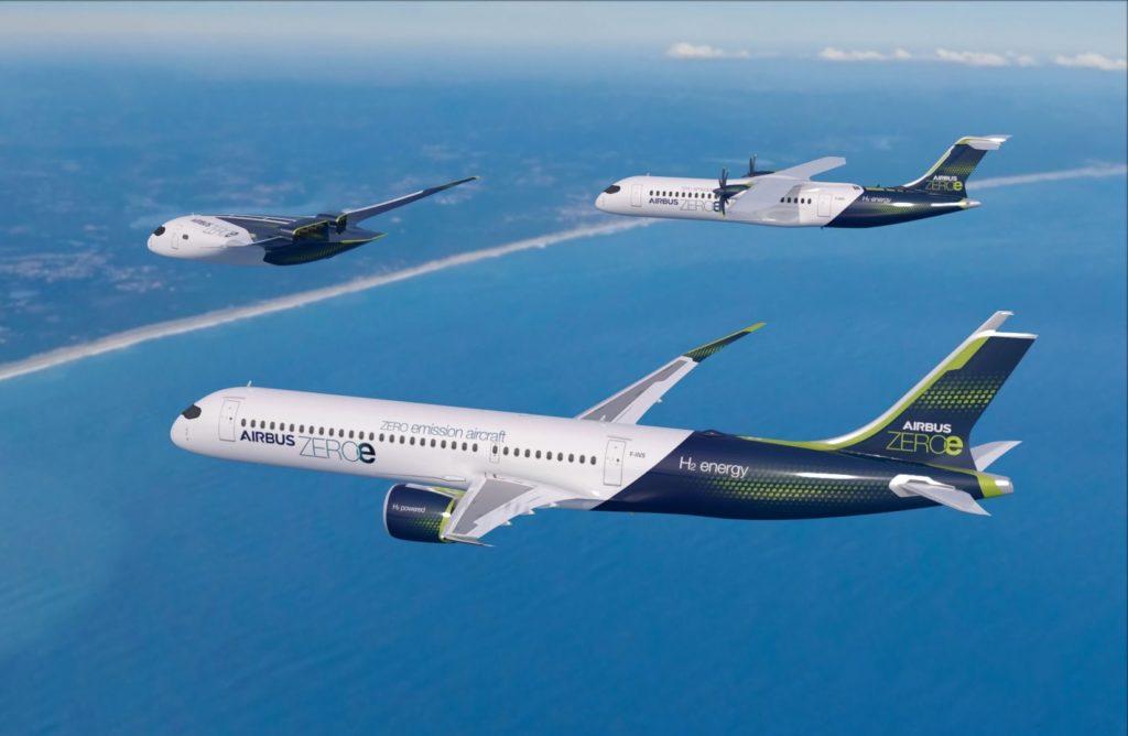 Les concepts à Hydrogène d'Airbus