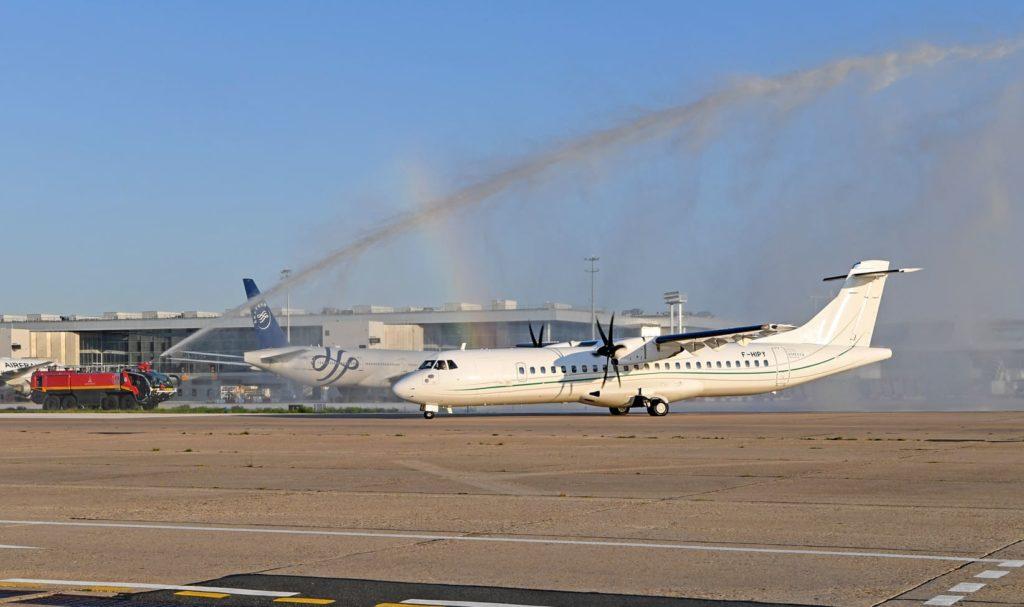 Amelia ATR72-600 à Orly