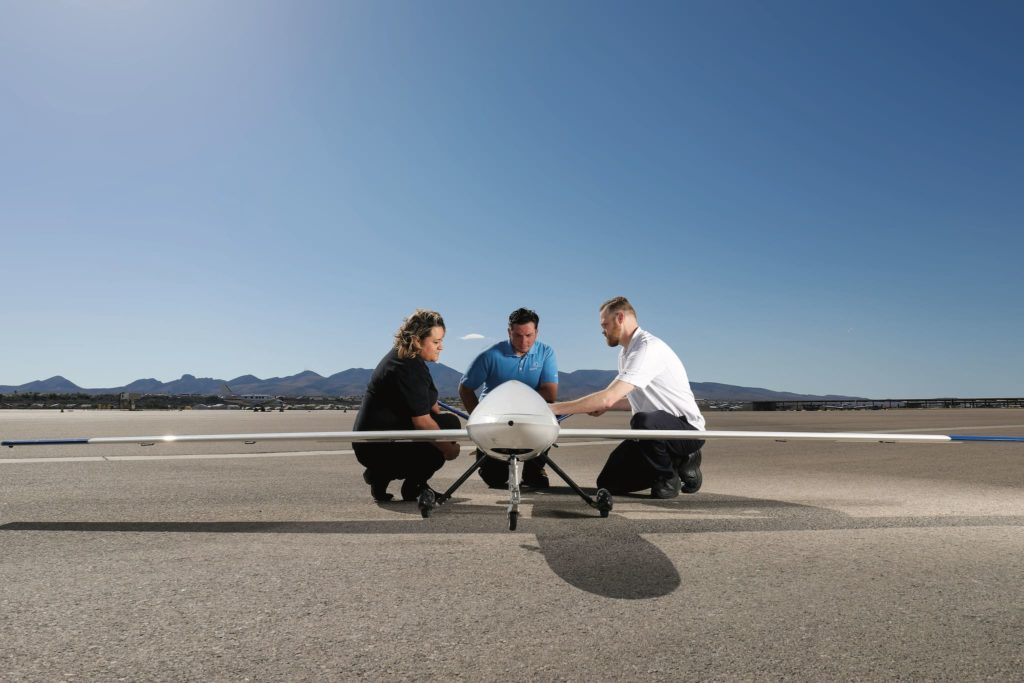 Barfield maintenance de drone au USA