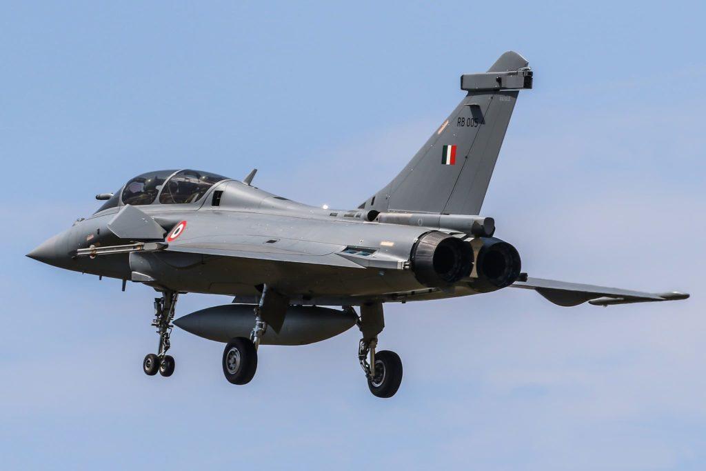 Rafale IAF en vol