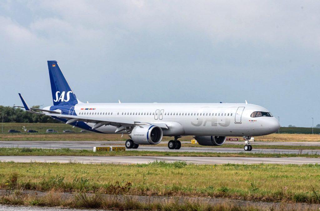 1er A321LR SAS