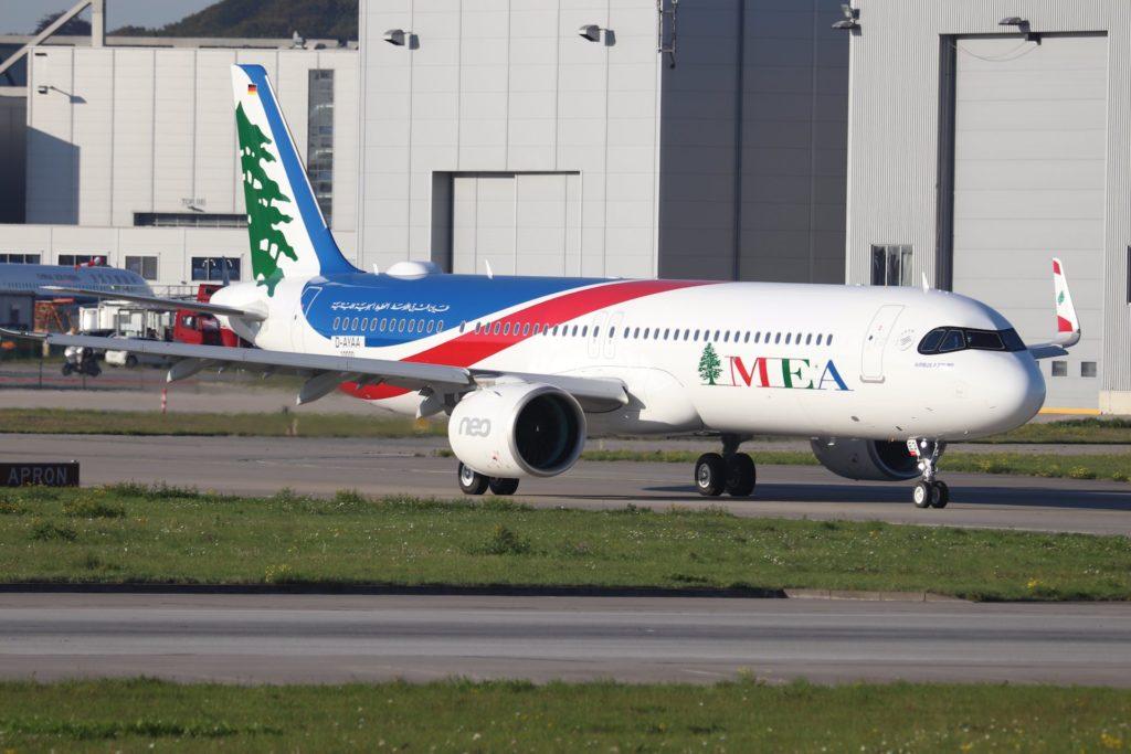 A321neo MEA MSN 10 000 a Hambourg