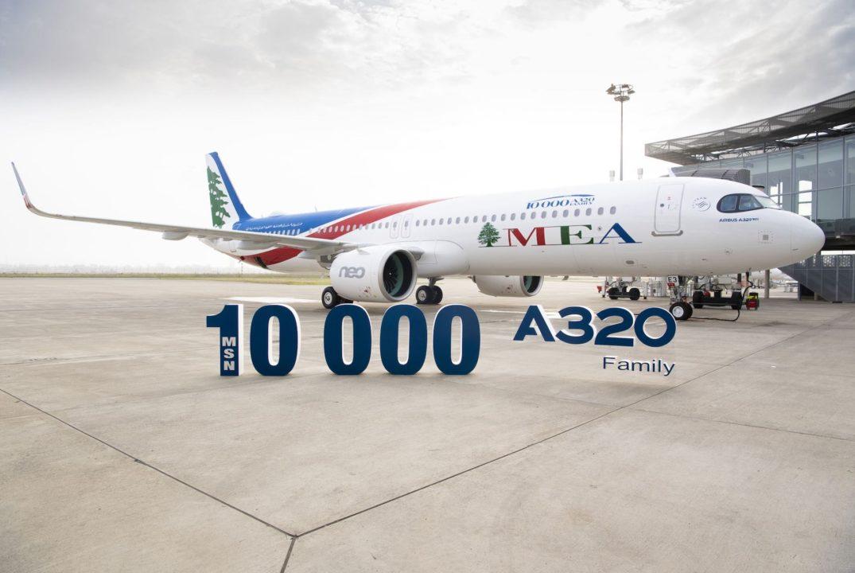 A321neo MEA MSN 10 000 a Toulouse