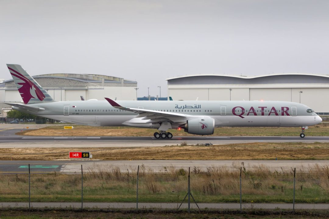 A350-1000 Qatar Airways A7-ANO