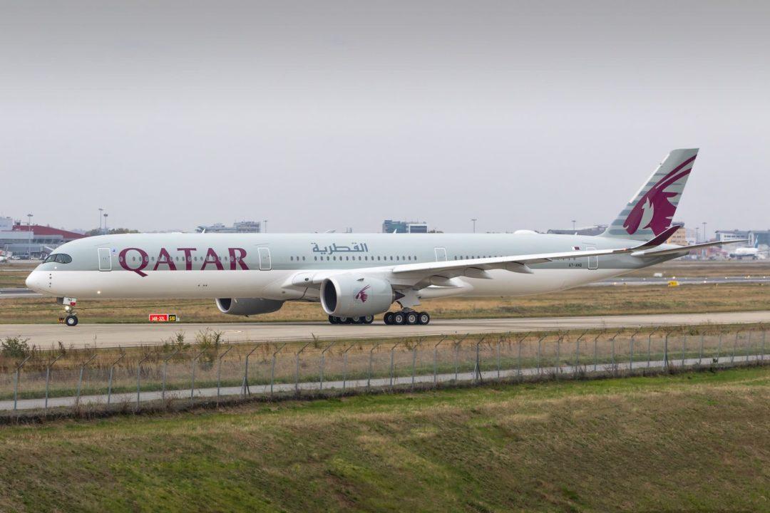 A350-1000 Qatar Airways A7-ANQ